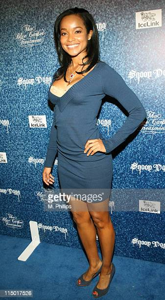Tamiko Nash Miss California 2006 during Snoop Dogg's Tha Blue Carpet Treatment Album Release Party at