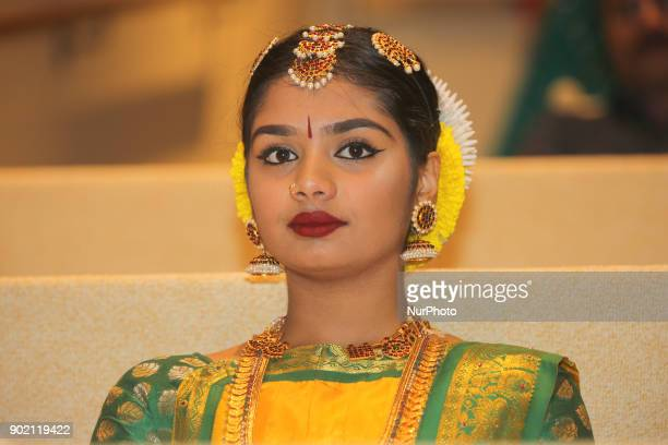 Tamil Bharatnatyam dancer during the opening ceremony for Tamil Heritage Month 2018 in Scarborough Ontario Canada on January 5 2018 The Canadian...