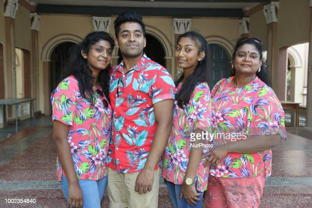 Tamil catholic devotees settled in Germany visit the Sardi Madha Catholic Church in Jaffna Sri Lanka