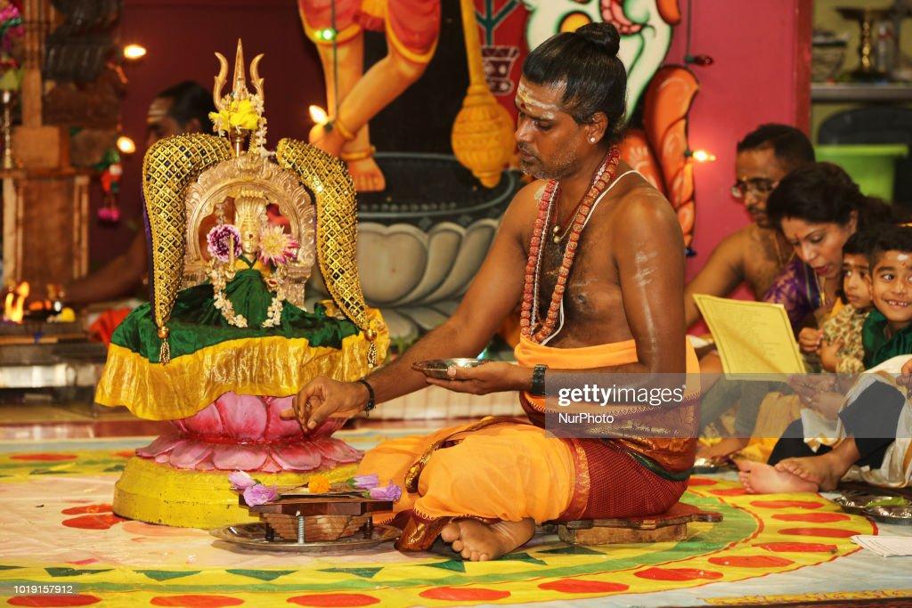 Tamil Hindus Celebrate The Karumari Ambal Sapparam Festival