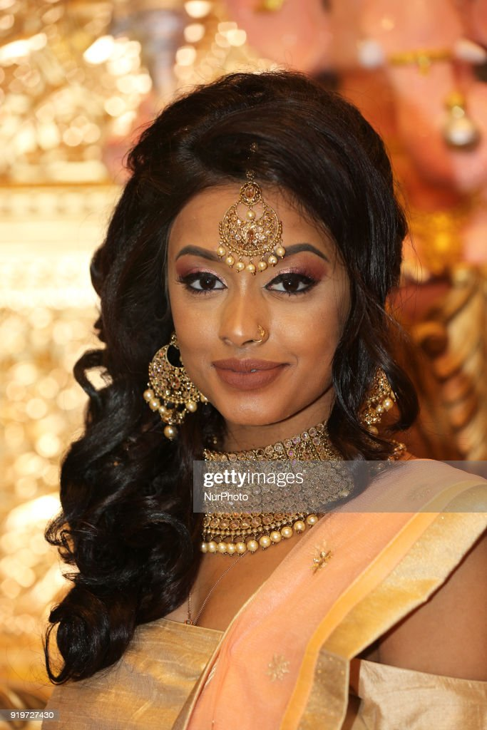 South indian and tamil bridal show in toronto photos and images tamil model wearing an exquisite outfit during a south indian and tamil bridal show held in thecheapjerseys Images