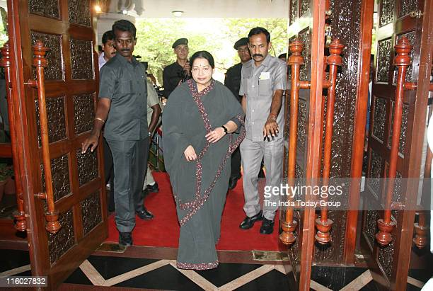 Tamil Nadu Chief Minister J Jayalalithaa on Monday arrived in Delhi on a twoday trip to the capital This is her first visit to the capital after...