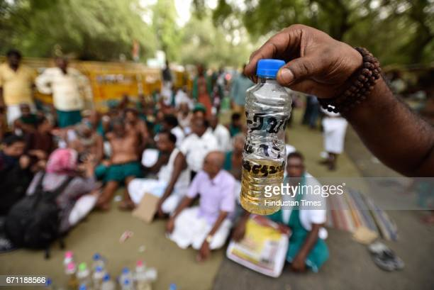 Tamil Nadu farmers, who are protesting at Jantar Mantar, have pledged to drink their urine on Saturday if the government did not pay heed to their...