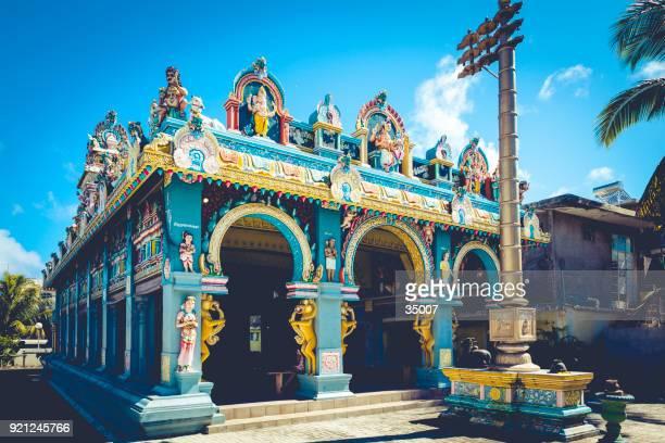 tamil surya oudaya sangam temple on mauritius island, africa