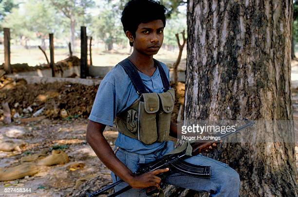 Tamil Tiger fighters in and around Jaffna in The north of Sri Lanka during their war against the Sri Lankan Army and The Indian Army.The war has...