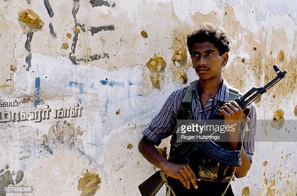 Tamil Tiger fighters in and around Jaffna in The north of Sri Lanka during their war against the Sri Lankan Army and The Indian ArmyThe war has...