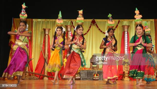 Tamil youth perform a traditional ruralthemed dance during a cultural program celebrating Tamil Heritage Month and the Festival of Thai Pongal in...