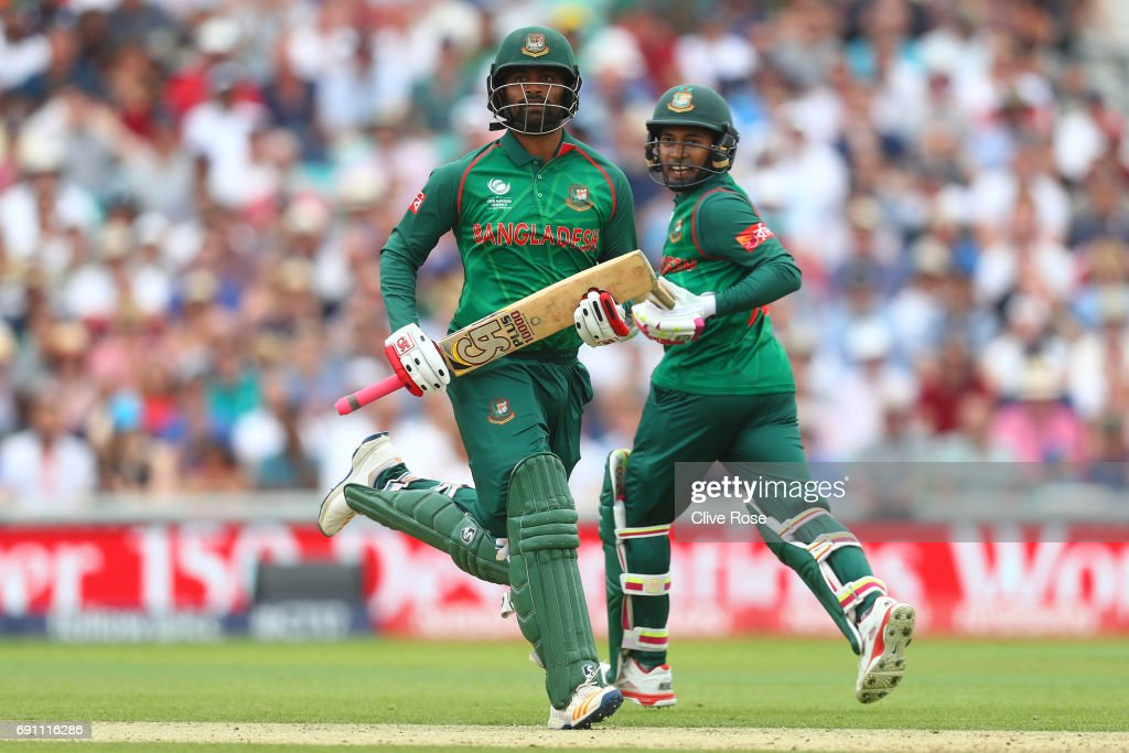 England v Bangladesh - ICC Champions Trophy : News Photo