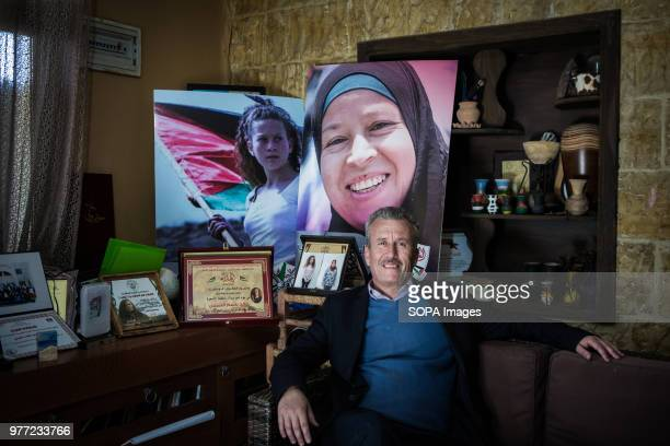 Tamimi's father in his home in Nabi Salih Tamimi is a strong family activist Ahed was arrested in December 2017 and she was condemned for 8 months...