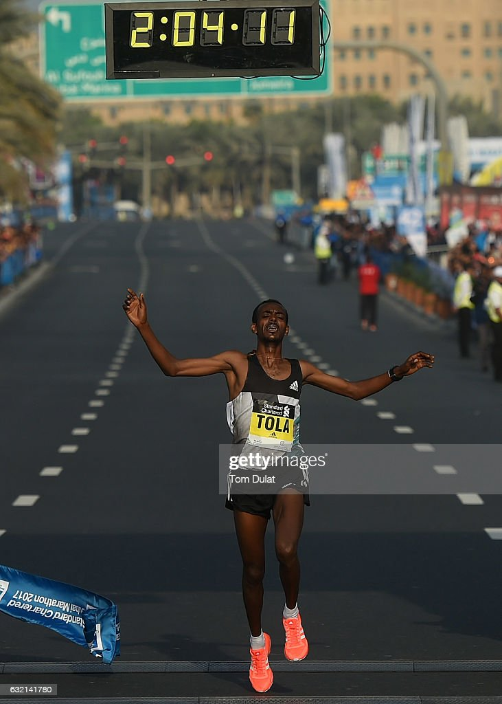 Standard Chartered Dubai Marathon 2017 : News Photo