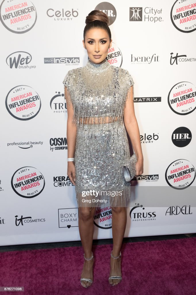 Tammana Roashan attends the American Influencer Award at The Novo by Microsoft on November 18, 2017 in Los Angeles, California.