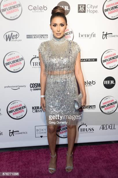 Tammana Roashan attends the American Influencer Award at The Novo by Microsoft on November 18 2017 in Los Angeles California