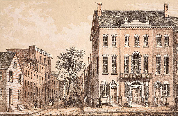 Tammany Hall, home to the Society of St Tammany, in...