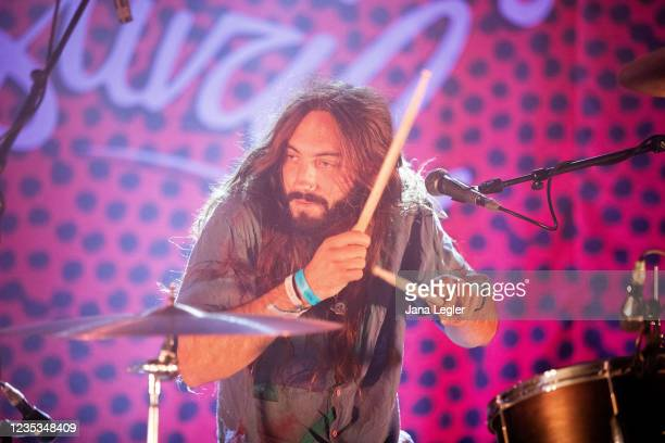 September 18: Tammo Dehn of Odd Couple performs live on stage during day 2 of Pure & Crafted Festival in Berlin on September 18, 2021 in Berlin,...