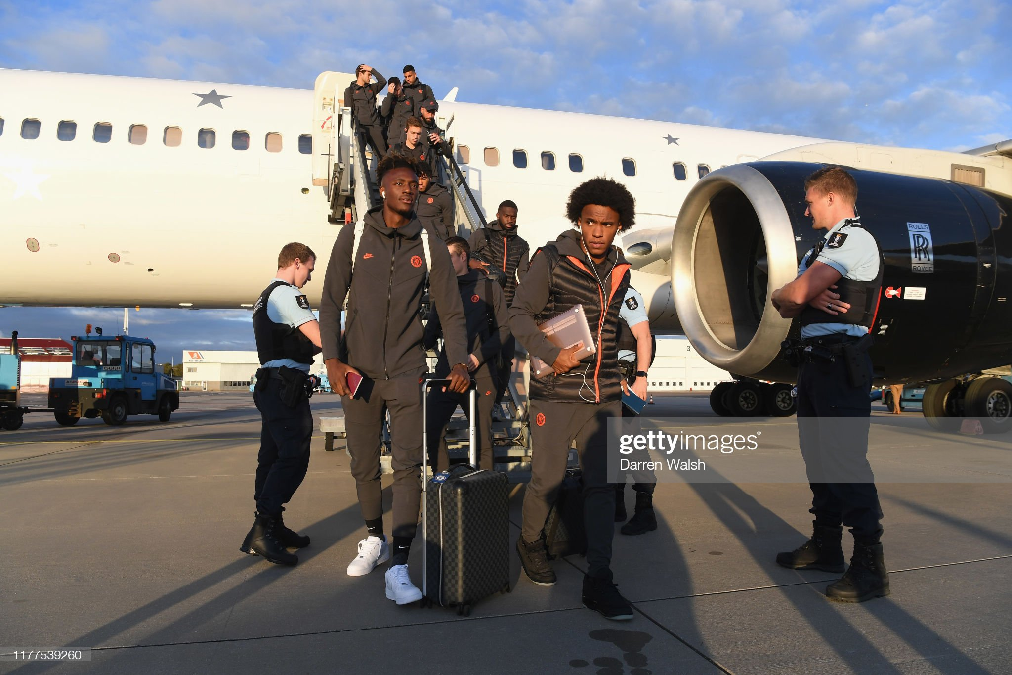 Chelsea Travel to Holland : News Photo