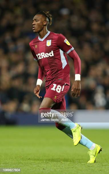Tammy Abraham of Aston Villa during the Sky Bet Championship match between West Bromwich Albion and Aston Villa at The Hawthorns on December 7 2018...
