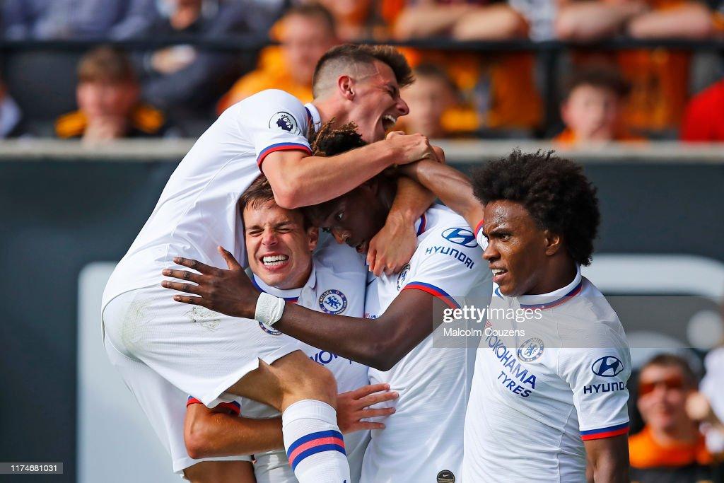 Wolverhampton Wanderers v Chelsea FC - Premier League : Nachrichtenfoto