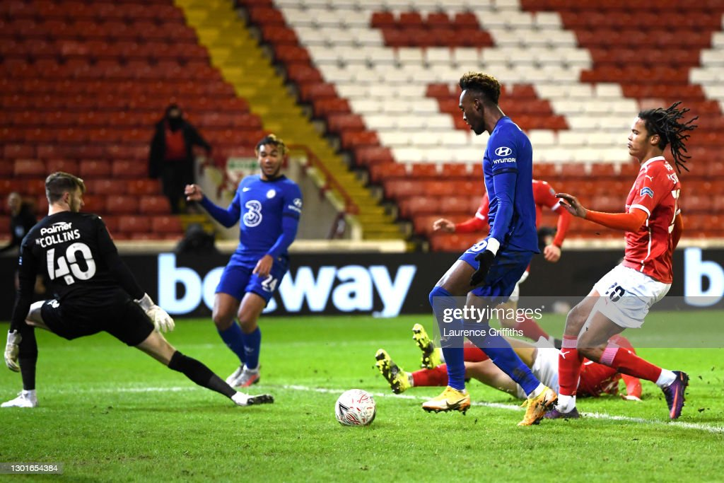 Barnsley v Chelsea: The Emirates FA Cup Fifth Round : News Photo