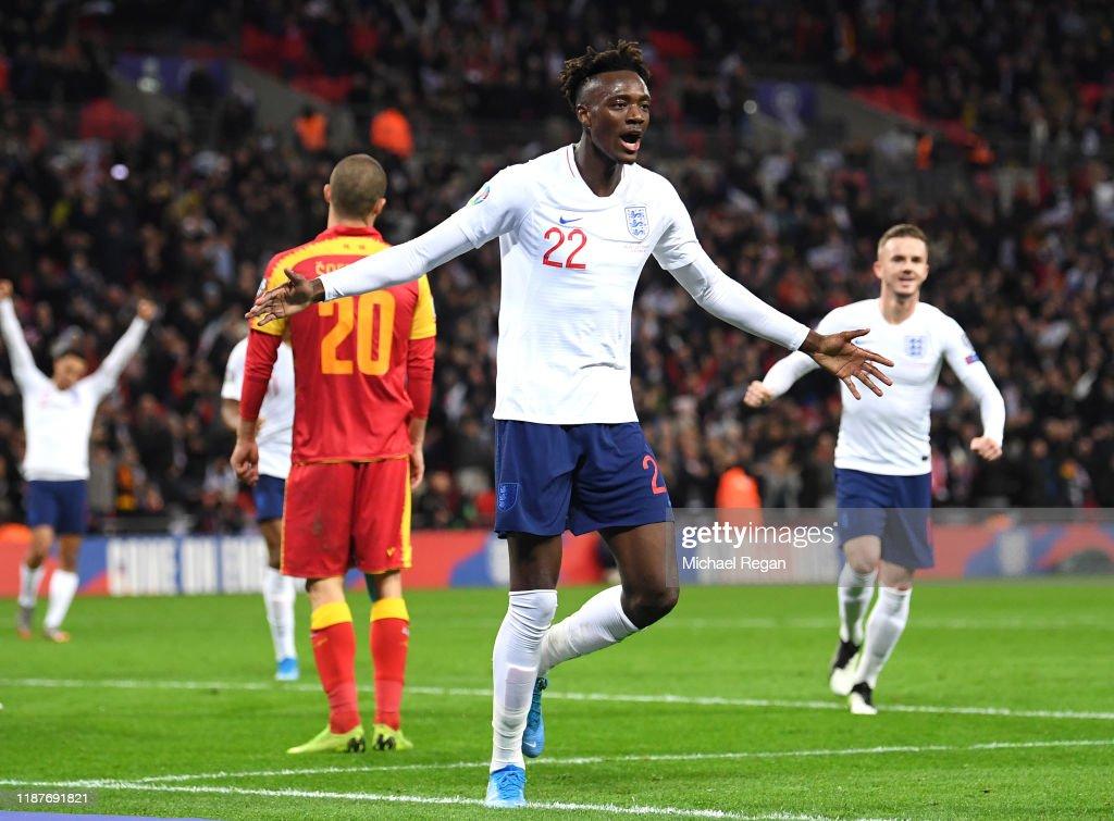England v Montenegro - UEFA Euro 2020 Qualifier : News Photo