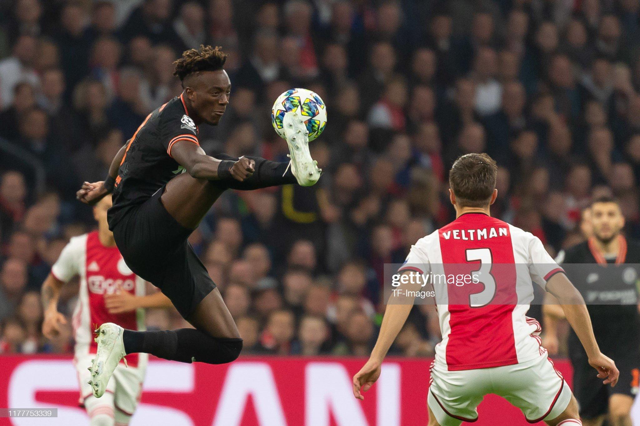 AFC Ajax v Chelsea FC: Group H - UEFA Champions League : News Photo