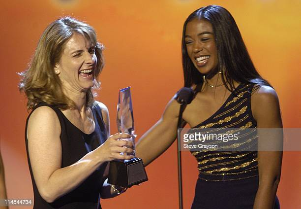 Tammy Ader and Ananda Lewis during The 7th Annual PRISM Awards Show at The Henry Fonda Theater in Los Angeles California United States