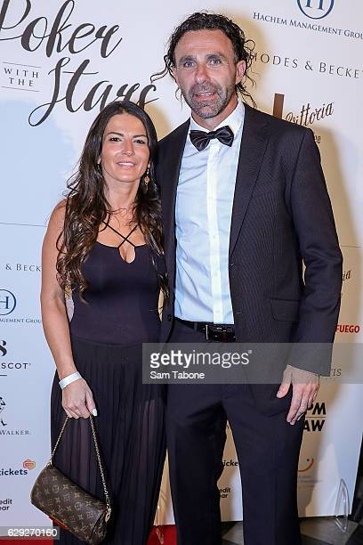 Tammy and Ange Christou arrives ahead of Poker With the Stars on December 12 2016 in Melbourne Australia