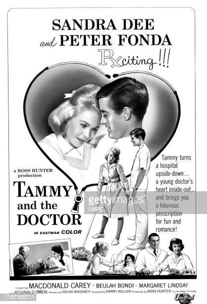 Tammy And The Doctor poster Sandra Dee Peter Fonda MacDonald Carey Beulah Bondi Margaret Lindsay 1963