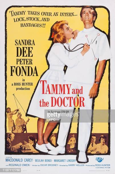 Tammy And The Doctor poster US poster art from left Sandra Dee Peter Fonda 1963