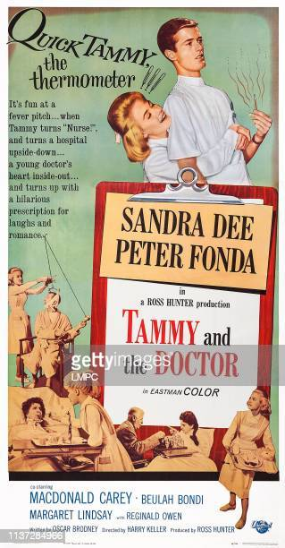 Tammy And The Doctor poster US poster art top from left Sandra Dee Peter Fonda 1963