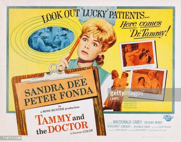 Tammy And The Doctor US lobbycard Sandra Dee Peter Fonda 1963