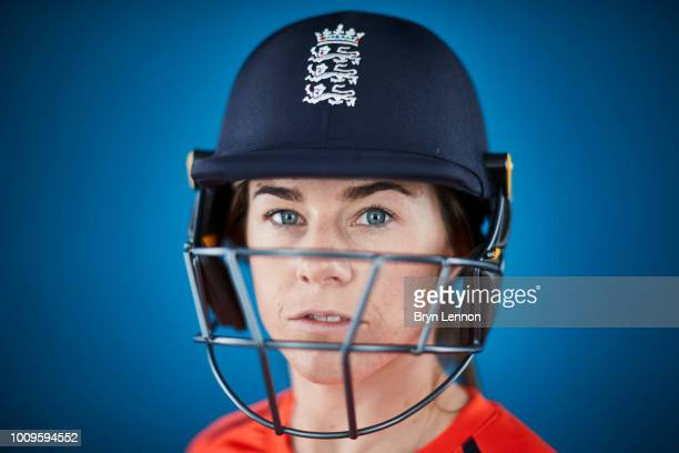 Tammy Beaumont of England poses for a photo at Lord's Cricket Ground on May 21 2018 in London England