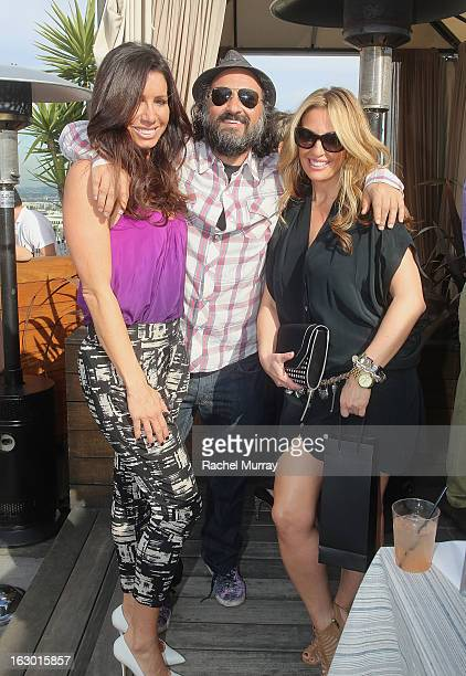 Tammy Brook Mr Brainwash and Bari Medgaus attend Flaunt Magazine and Samsung Galaxy celebrate The Plutocracy Issue release hosted by cover Russell...