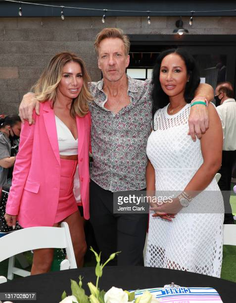 """Tammy Brook, Sean McFarland and Lakiha """"Kiki"""" Spicer attend the 100 Women Matter Luncheon hosted by We2Matter and Dream Corps JUSTICE at Tyson Ranch..."""
