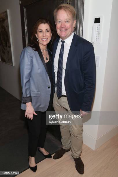 Tammy Bruce and James Higgins attend Ambassador Grenell Goodbye Bash on May 6 2018 in New York City