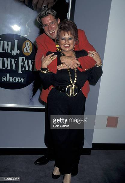 Tammy Faye Bakker Messner and Jim J Bullock during 1996 National Association of Television Program Executives Convention at Sands Convention Center...