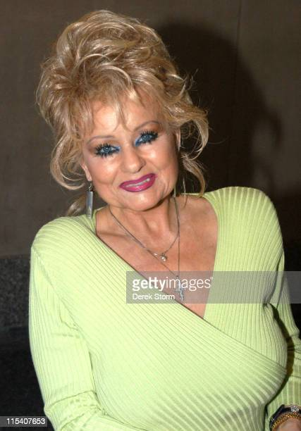 Tammy Faye Bakker Messner during Maggie Gyllenhaal and Tammy Faye Messner Visit the Today Show July 21 2005 at Today Show Studios in New York City...