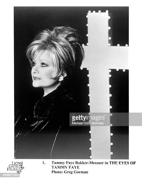 Tammy Faye Bakker poses for the Documentary The Eyes of Tammy Faye circa 2000