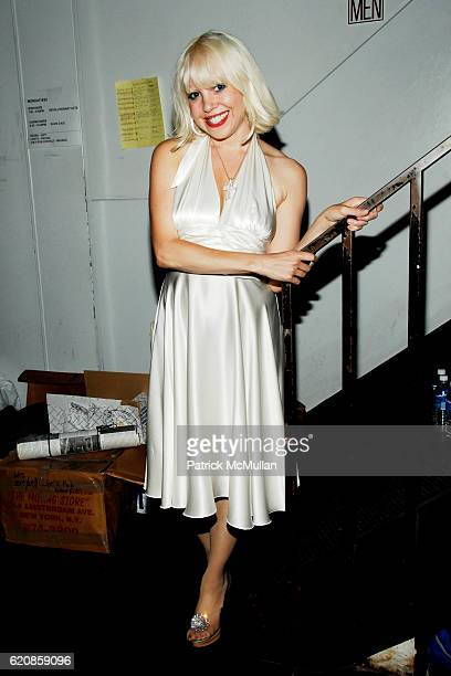 Tammy Faye Starlite attends REVOLUTIONARY ACTS A Benefit for THE LIVING THEATRE at Joe's Pub on August 25 2008 in New York City