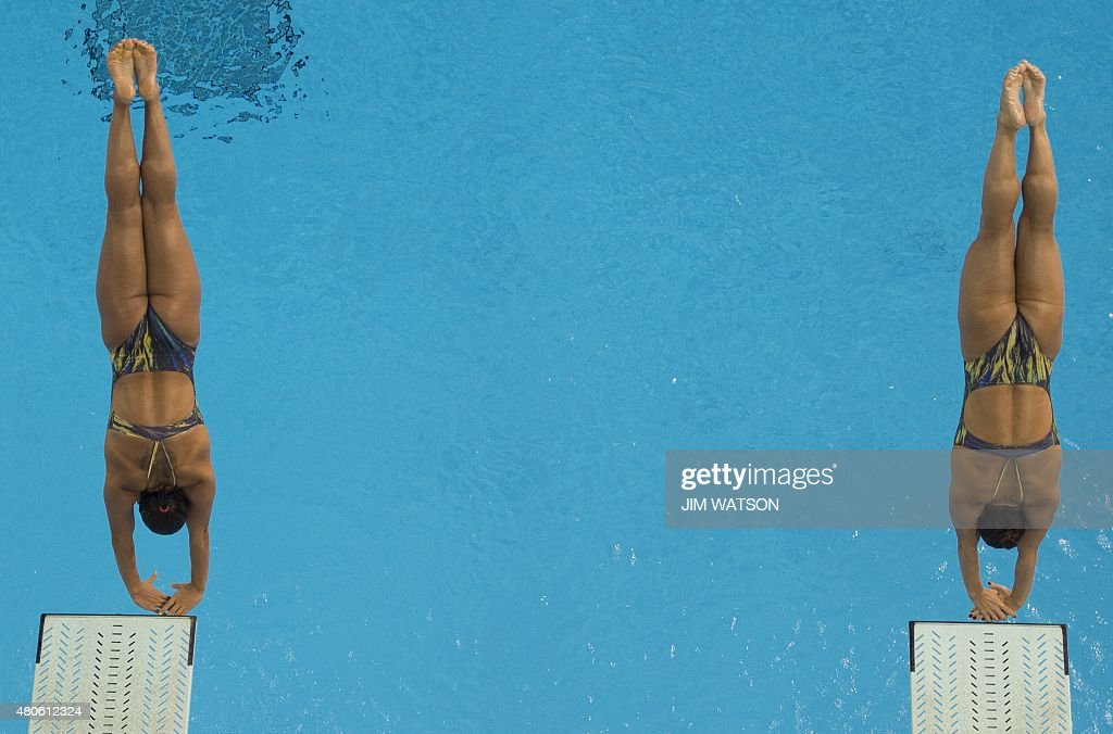 PANAM2015-CANADA-DIVING-3M-WOMENS-SYNCHONIZED : News Photo