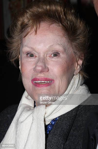 Tammy Grimes attends the Blithe Spirit Broadway opening night party at Sardi's on March 15 2009 in New York City