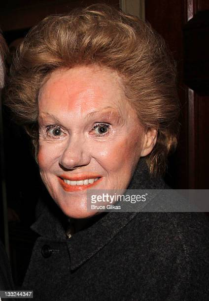 Tammy Grimes attends the Private Lives Broadway opening night at the Music Box Theatre on November 17 2011 in New York City