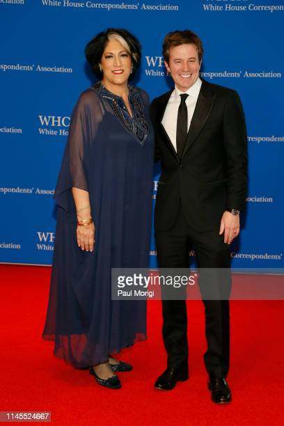 Tammy Haddad and Jeff Glor attend the 2019 White House Correspondents' Association Dinner at Washington Hilton on April 27 2019 in Washington DC