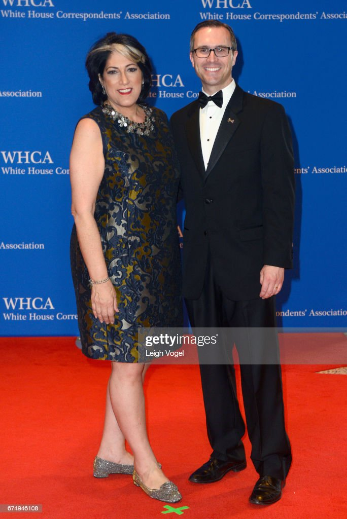 2017 White House Correspondents' Association Dinner - Arrivals : Nachrichtenfoto