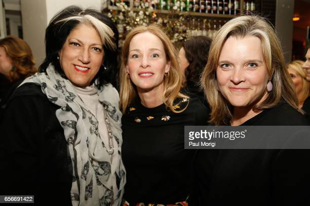 Tammy Haddad Kathleen Biden and Kelley McCormick attend ELLE and Bottega Veneta Women in Washington dinner hosted by Robbie Myers ELLE EditorinChief...