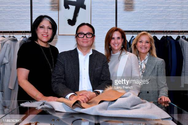 Tammy Haddad King Chong Betsy Fischer Martin and Hilary Rosen attend the Lafayette 148 New York American University event at Tysons Galleria on...