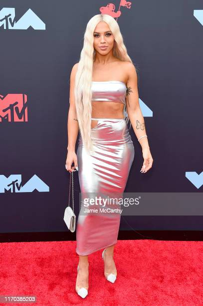 Tammy Hembrow attends the 2019 MTV Video Music Awards at Prudential Center on August 26 2019 in Newark New Jersey