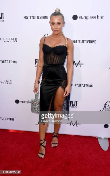 Tammy Hembrow attends the Daily Front Row's 5th Annual Fashion Los Angeles Awards at Beverly Hills Hotel on March 17 2019 in Beverly Hills California
