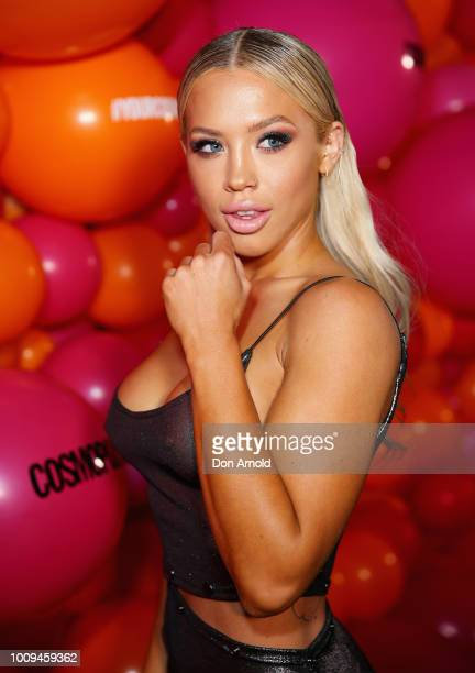 Tammy Hembrow attends the Your Cosmo Cover Event on August 2 2018 in Sydney Australia