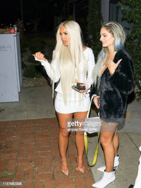 Tammy Hembrow is seen on July 25 2019 in Los Angeles California