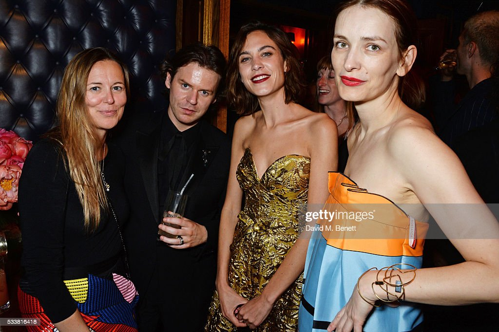 British Vogue's Centenary Birthday Party At Tramp